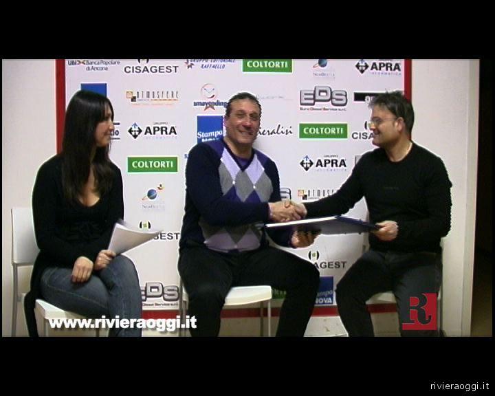 Mister Fenucci durante l'intervista a Vallesina Web Tv (archivio)