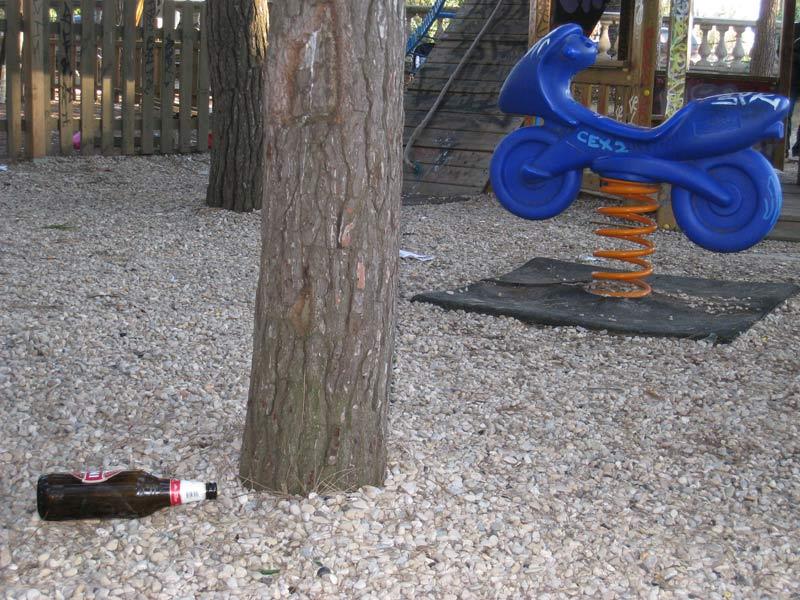 La Bambinopoli nelle pinete del centro