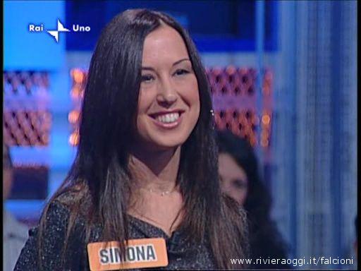 Simona Molino a L'Eredità