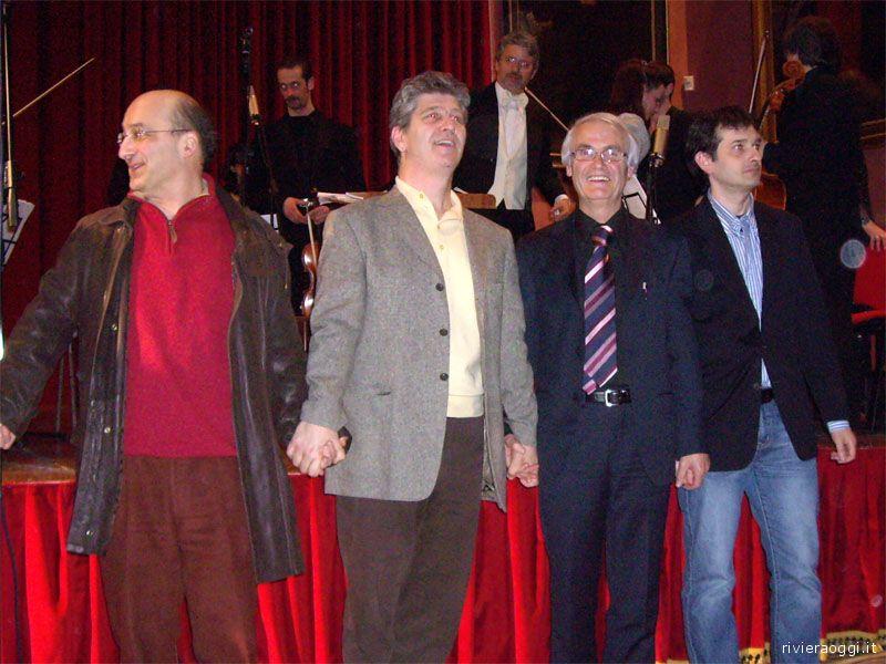 Alcuni dei docenti di composizione del Conservatorio