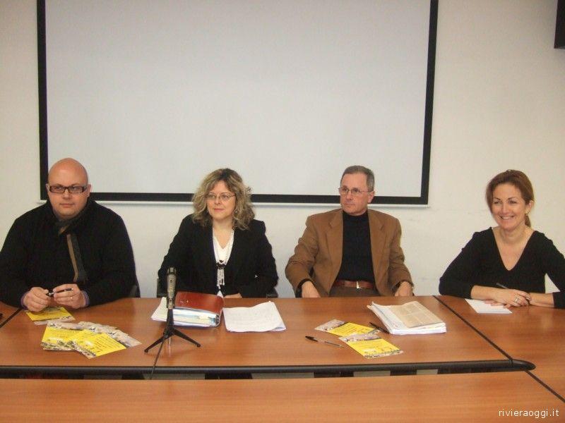 Assessore bilancio Ripatransone Lucciarini, Rosanna Moretti, fabrizio de Julis, Antonella Roncarolo