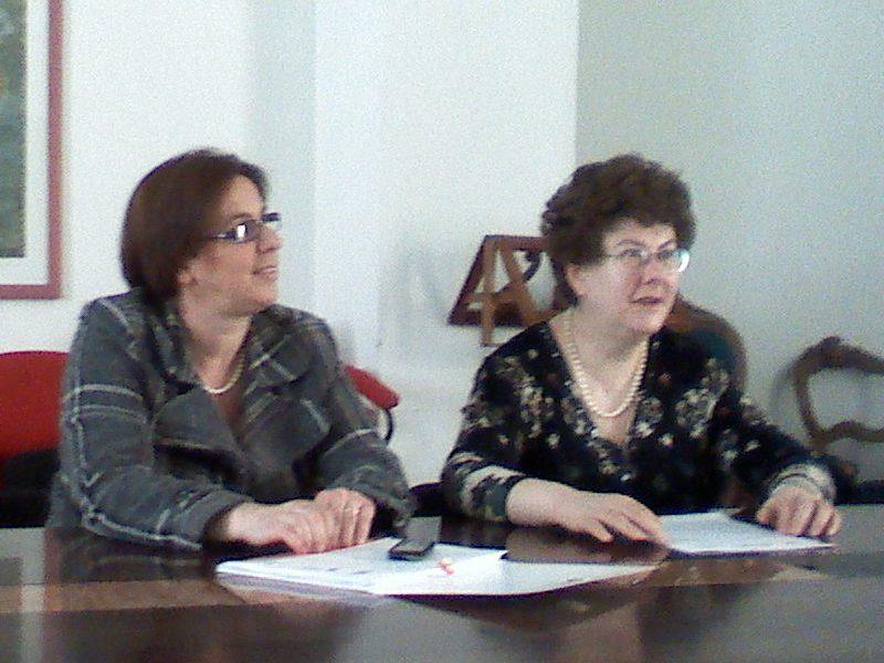 Le consigliere di Parità, Paola Petrucci e Paola Casciati