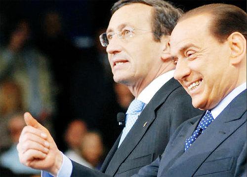 Berlusconi e Fini