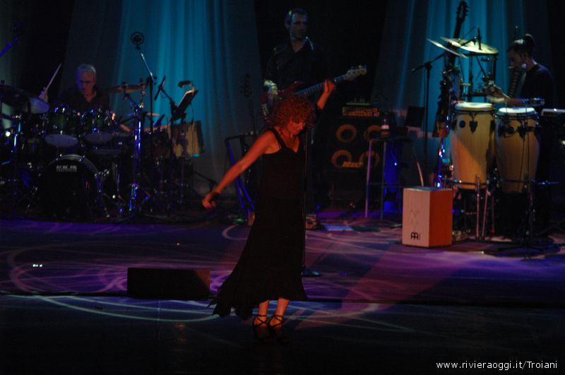 Fiorella Mannoia al PalaRiviera, 10 aprile 2010