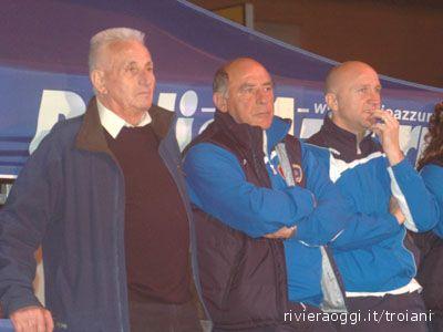 Festa promozione in Serie D: passato, presente e futuro nella Samb nei volti di Zoboletti, Chimenti e Palladini