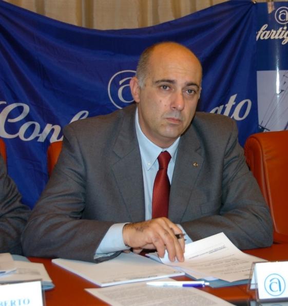Moreno Bruni, presidente della Confartigianato UAPI