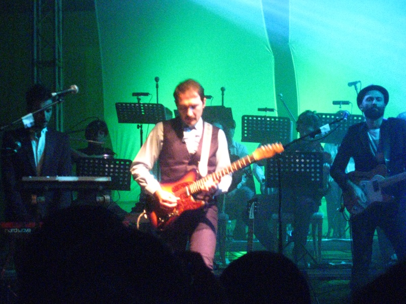 Il chitarrista Claudio Brasini