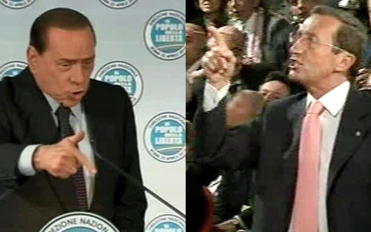 Fini vs Berlusconi; le opinioni del Pdl locale