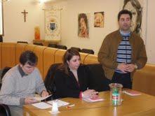 Da sinistra Giuseppe Pacetti, Ida Gasparretti e Stefano Stracci