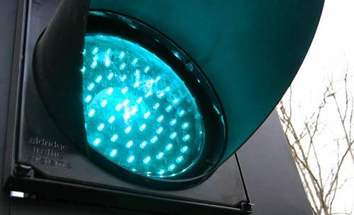 Un esempio di semaforo a Led