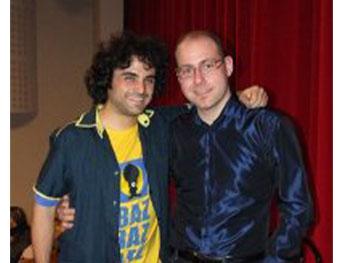 Stefano non solo musica con Buz, alle selezioni dello scorso anno di Cabaret, amoremio!