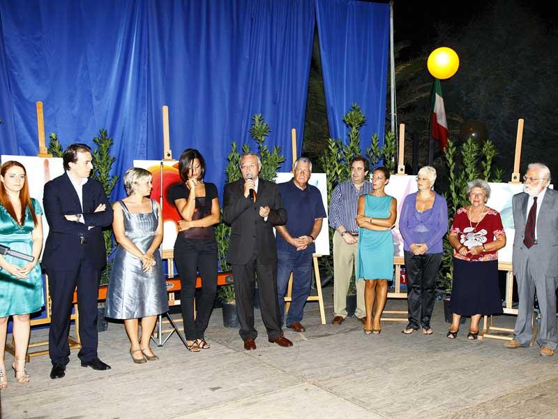 La serata di premiazione dell'edizione 2009 del Concorso letterario internazionale