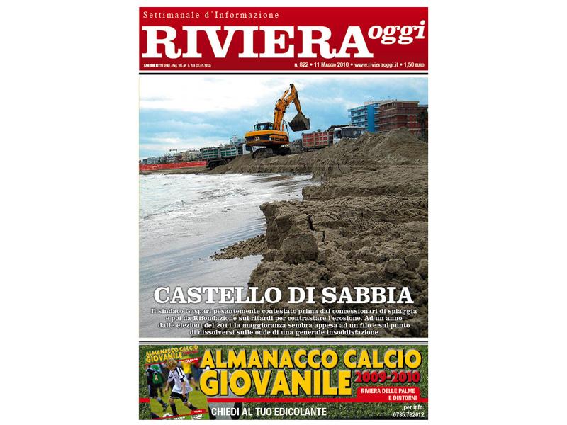 La copertina di Riviera Oggi numero 822