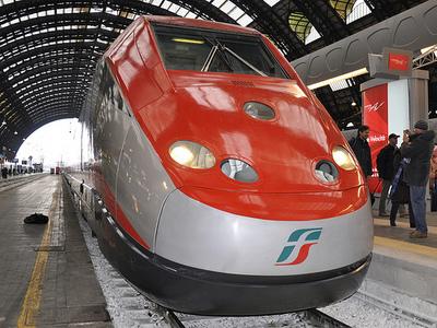 Un treno Frecciarossa ad Alta Velocità