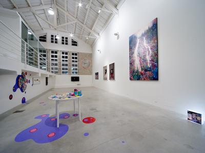 Lo spazio espositivo di via Esino a San Benedetto