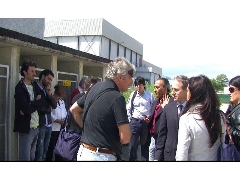 Delegazione argentina in visita ad Asteria