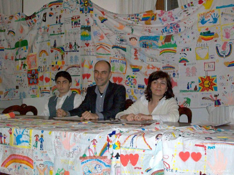 Il sindaco junior, il neo assessore Mariani e il consigliere Lanciotti