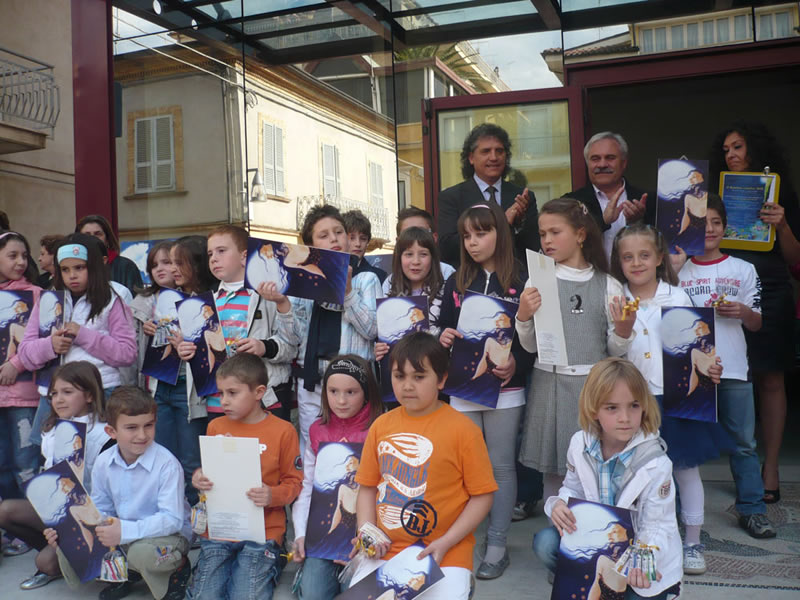 Alcuni dei bambini premiati