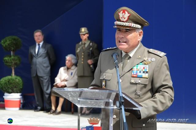 Il comandante Attilio Claudio Borreca