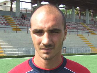 Francesco Covelli qui con la maglia dell'Agnonese