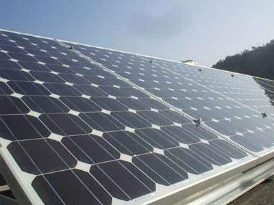Un pannello fotovoltaico