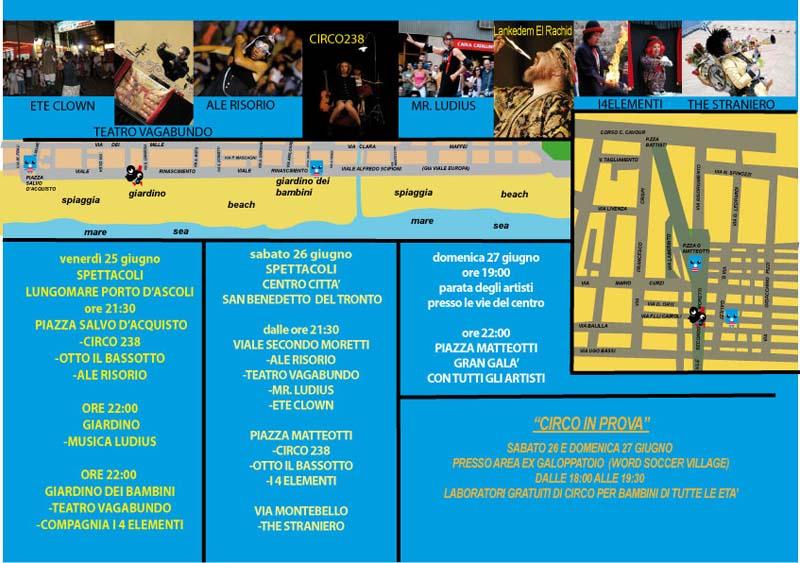 Torna il Festival degli Artisti di Strada: il programma dell'edizione 2010