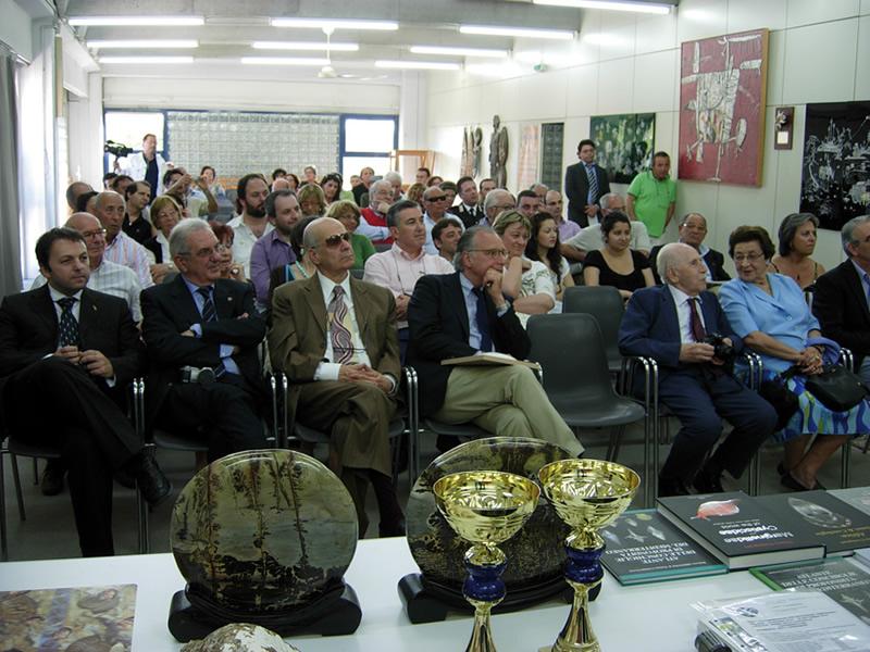 Il pubblico all'inaugurazione