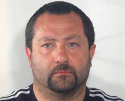 Giovanni Neroni, in carcere con l'accusa di tentata estorsione, incendio e lesioni