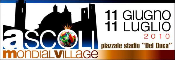Il logo dell' Ascoli mondial Village