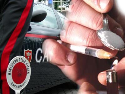 Operazione antidroga del Nucleo Radiomobile dei Carabinieri di San Benedetto del Tronto.