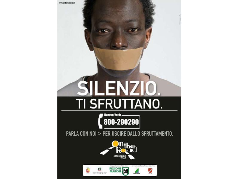 Un manifesto contro lo sfruttamento sessuale e lavorativo