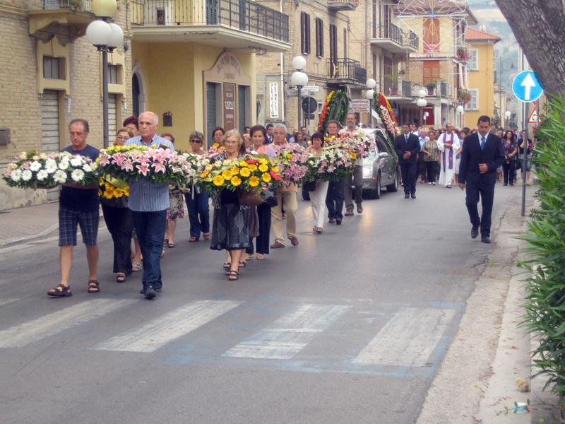I funerali di Vincenzo Castelletti