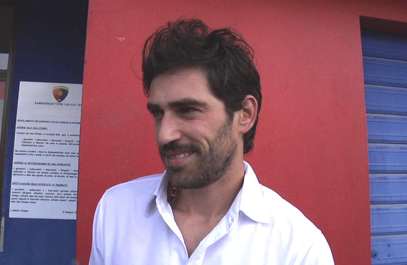 Il sorriso di Cristian Pazzi