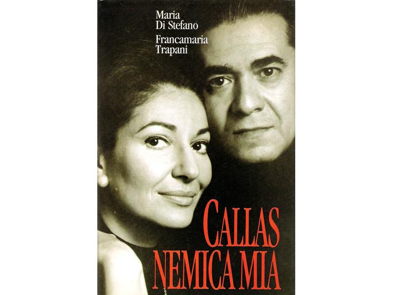 Di Stefano e la Callas sulla copertina del libro