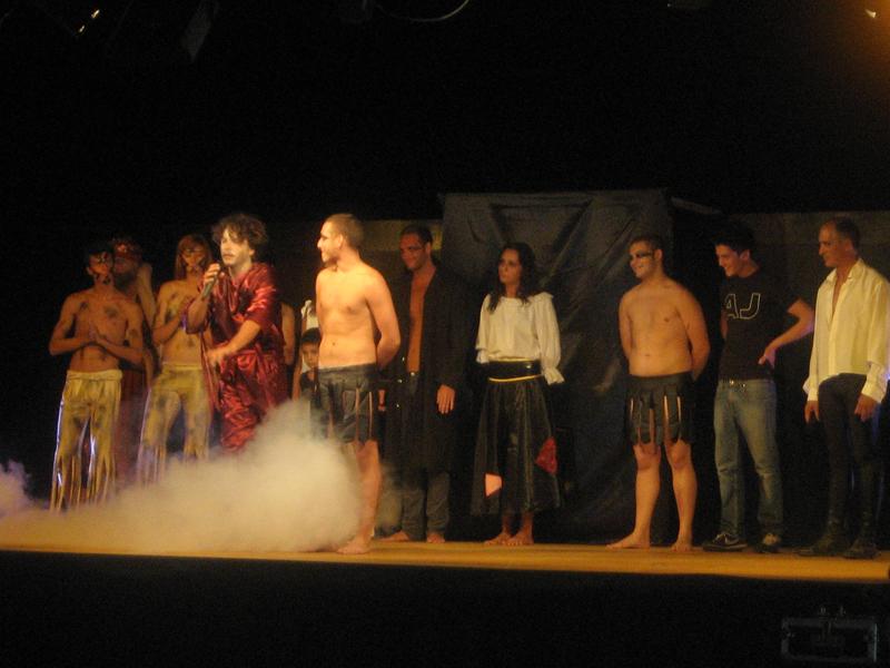 Gli attori del musical