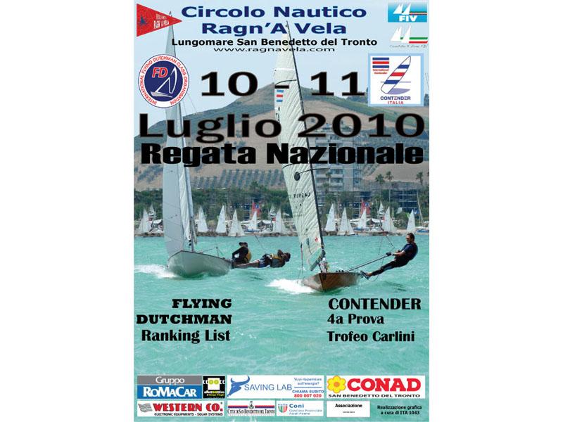 Il 10 e l'11 luglio Regata Nazionale a San Benedetto