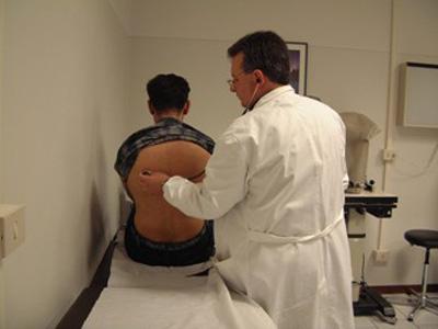 Una visita medica