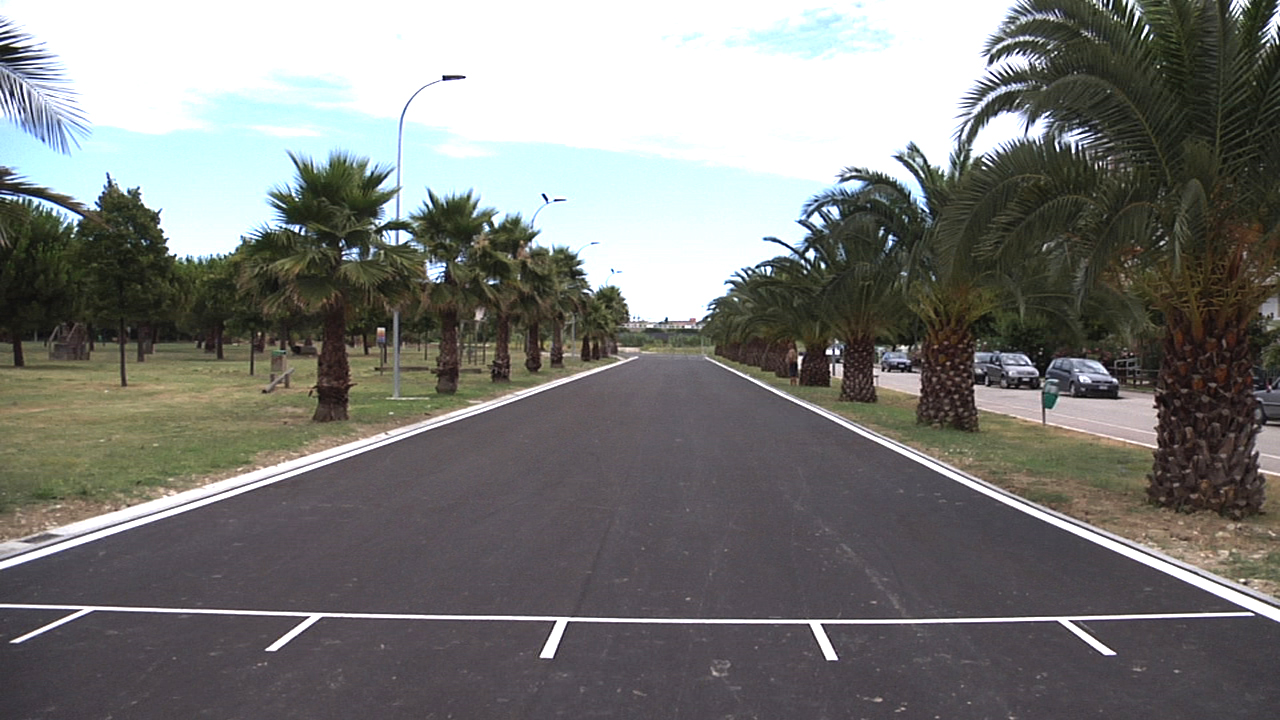 L'arrivo della nuova pista di pattinaggio su strada, in zona Santissima Annunziata