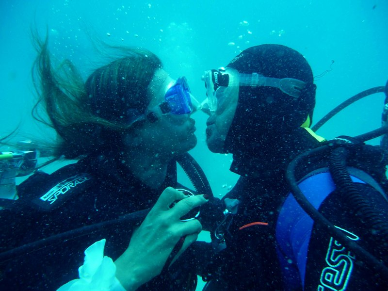 Bacio tra sub