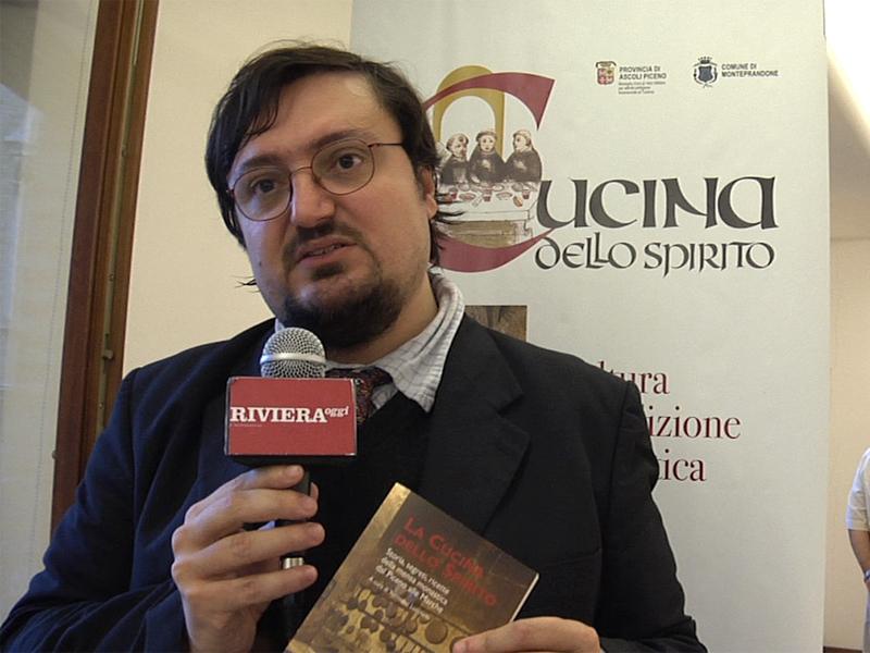 Tommaso Lucchetti, curatore del volume La Cucina dello Spirito