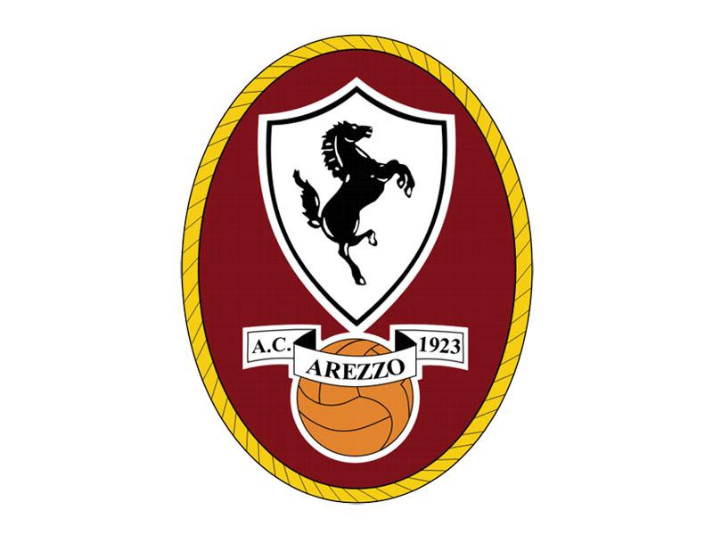 Lo stemma dell'Arezzo