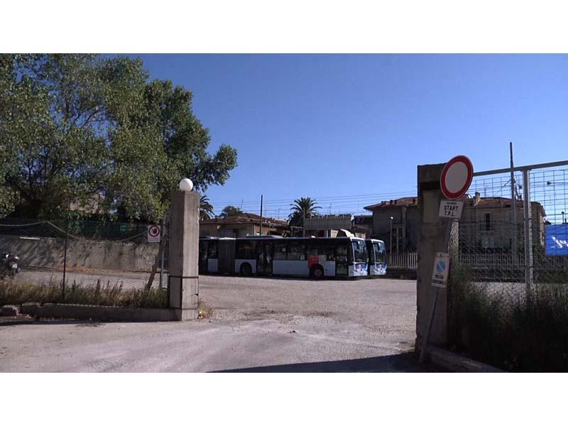 L'ormai ex deposito Start in via Calatafimi