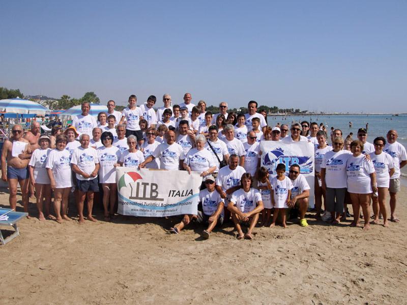 Foto di gruppo per l'Itb