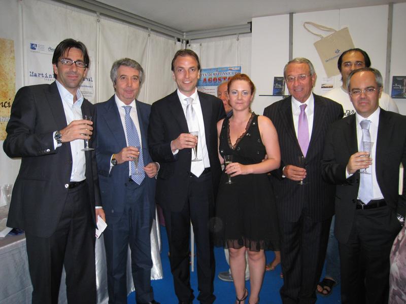 Mauro Di Dalmazio, Giuseppe Gnagnarella, Massimo Vagnoni, Valeria Di Felice, Abramo Di Salvatore, Marco Cappellacci e Lucio Valentini