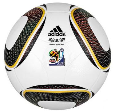 Il pallone dei Mondiali sudafricani