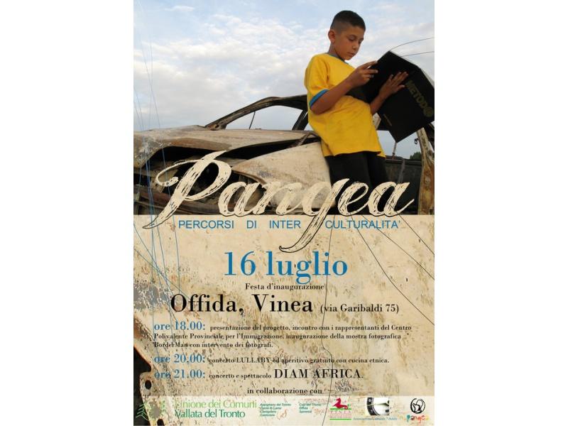 Pangea, locandina evento