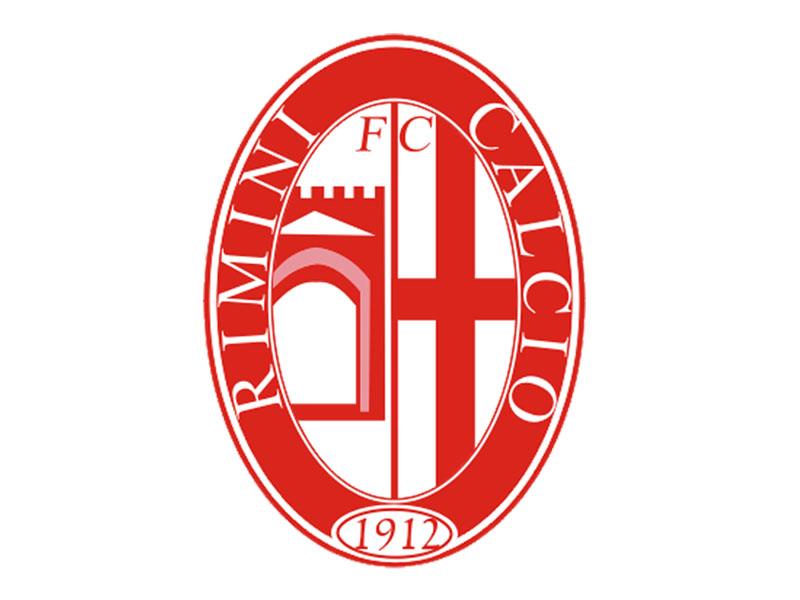 Lo stemma del Rimini Calcio