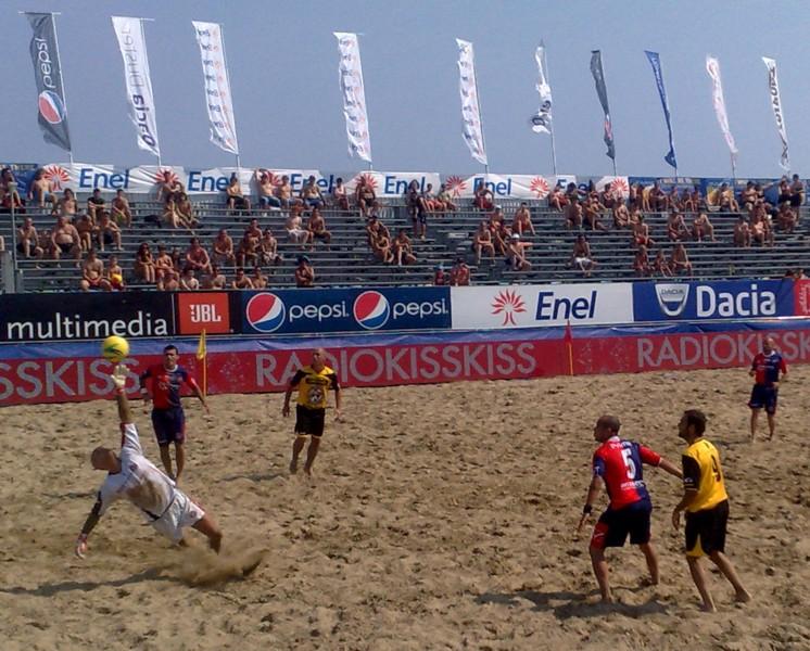 Samb-Fano a Lignano Sabbiadoro, l'ultima vincente partita della Samb Beach Soccer