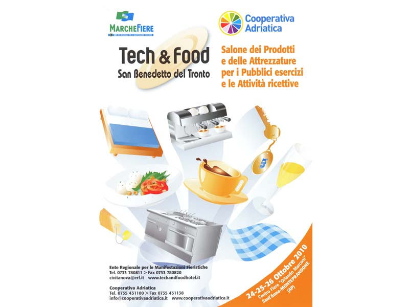 Tech & Food, la locandina