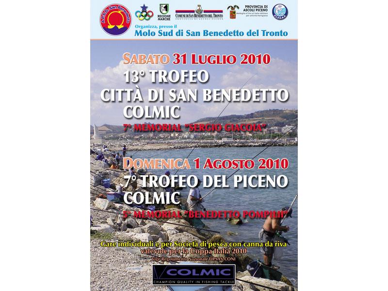 Week end di gare di pesca sportiva a San Benedetto